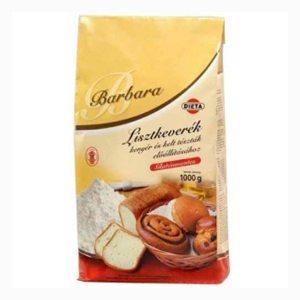 Barbara gluténmentes lisztkeverék kenyérhez és kelttésztákhoz