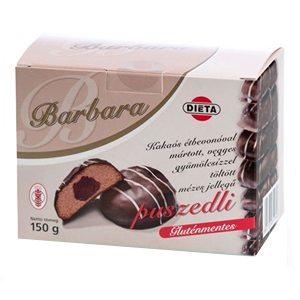 Barbara gluténmentes puszedli