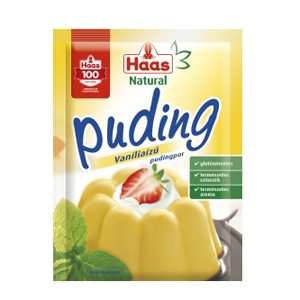 Haas puding vanilia natural