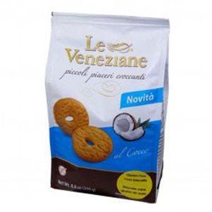 La Veneziane gluténmentes kókuszos keksz