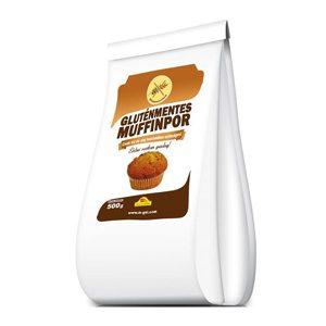 Gluténmentes muffinpor