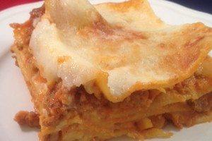 Gluténmentes lasagne, a család kedvence
