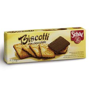 Schar Biscotti gluténmentes csokis keksz